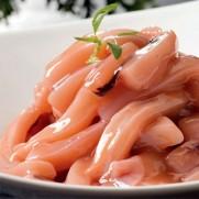 日本鹽辛魷魚刺身 (約100g)