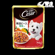 CESAR西莎蒸鮮包 牛肉與蔬菜 70g