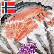 原條挪威三文魚 (約15磅)