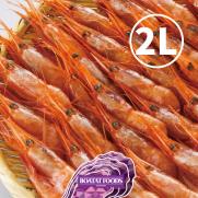 俄羅斯有頭甜蝦刺身 2L (約50-60隻入 1kg)
